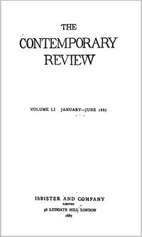 The Contemporary Review 1887