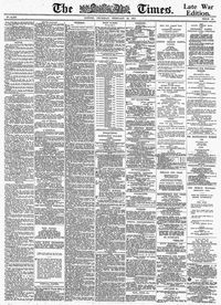The Times 1919 02 22